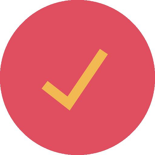 marca de verificação  grátis ícone