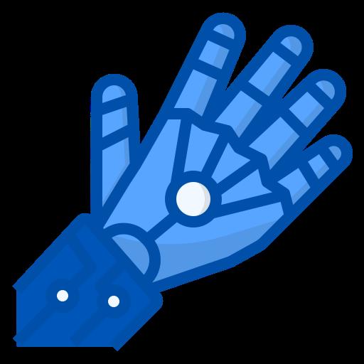 로봇 손  무료 아이콘