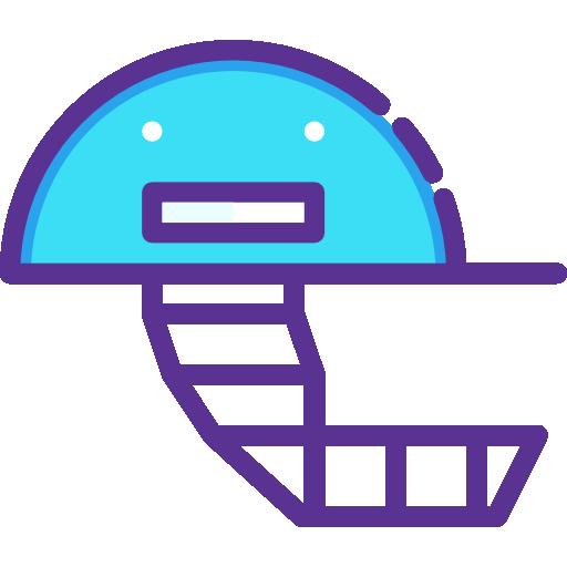 capacete de críquete  grátis ícone