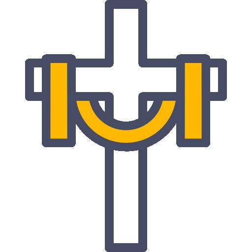 cruz  grátis ícone