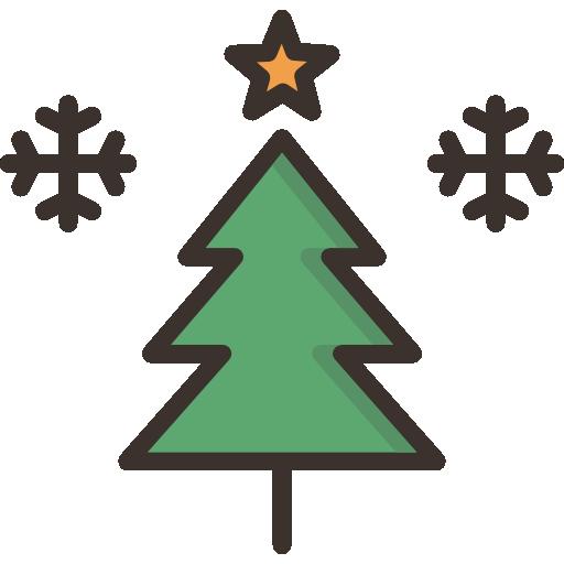 árvore de natal  grátis ícone