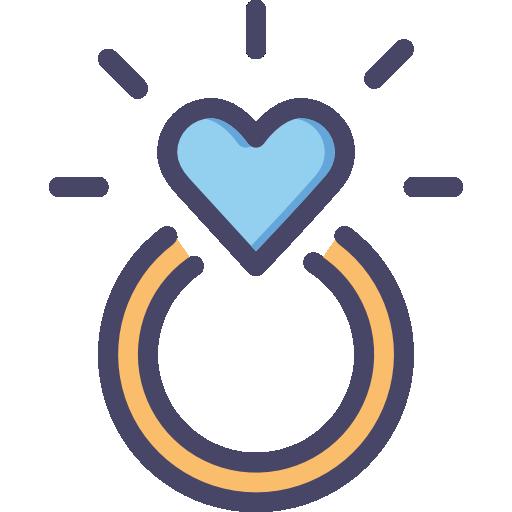 anel de noivado  grátis ícone
