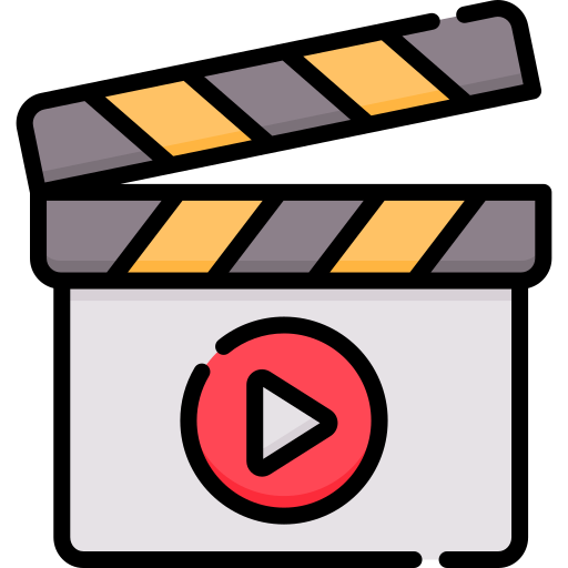 Clapperboard  free icon
