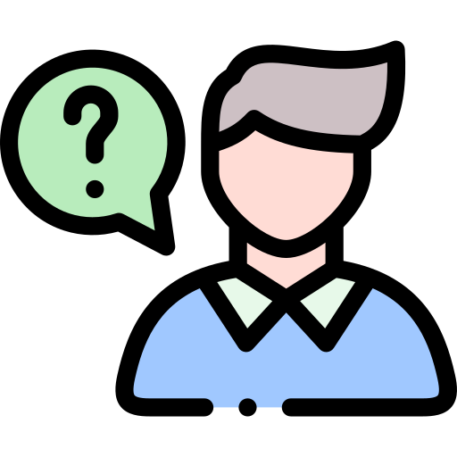 des questions  Icône gratuit