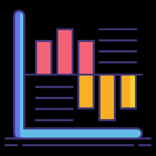 statistiques déductives  Icône gratuit