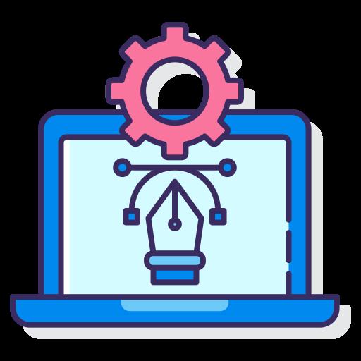 software de diseño  icono gratis