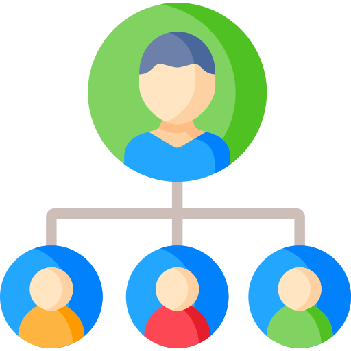 Hierarchy structure  free icon