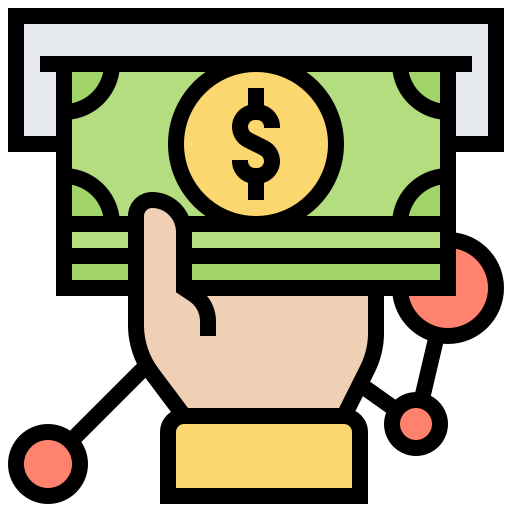 Compensation  free icon