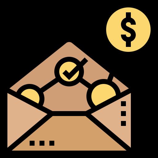compensación  icono gratis