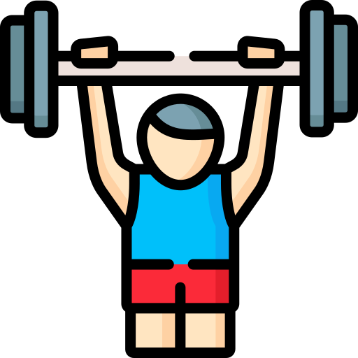 Weight lifting  free icon