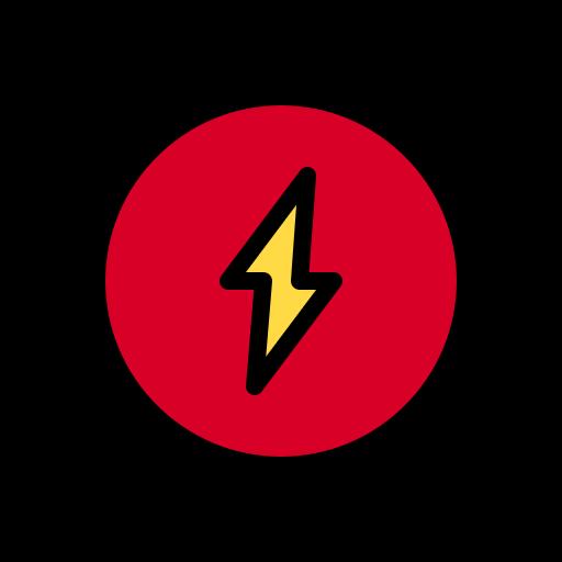 energía  icono gratis