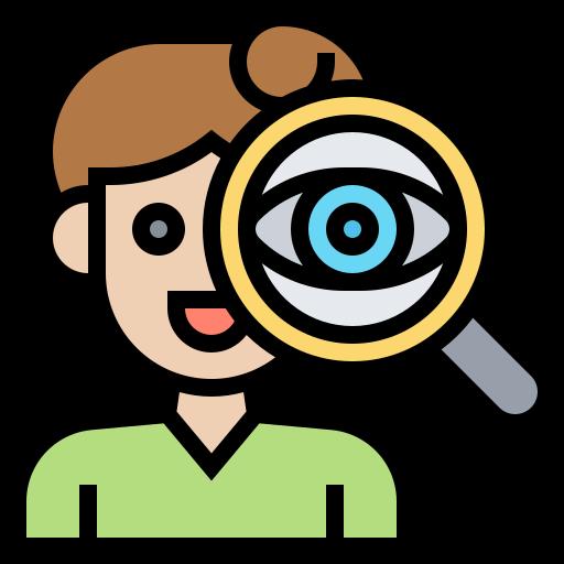 observación  icono gratis