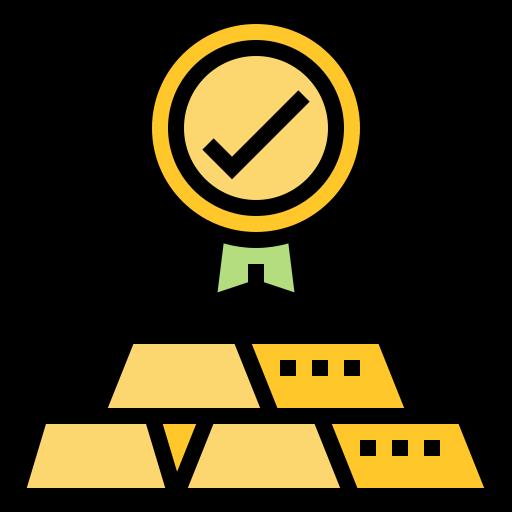 Gold  free icon