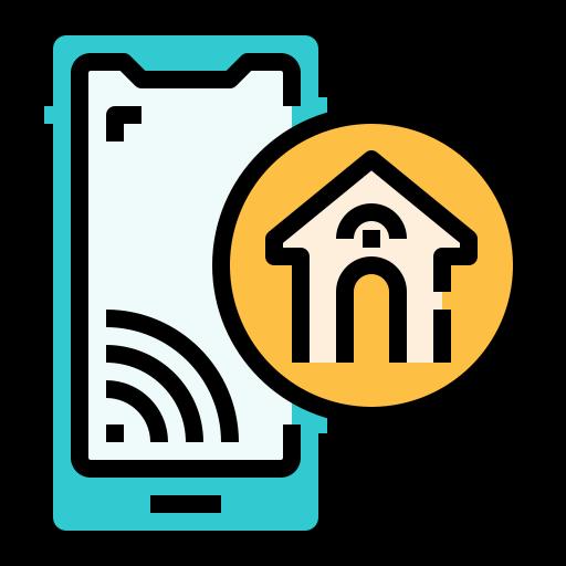 contrôle de la maison  Icône gratuit