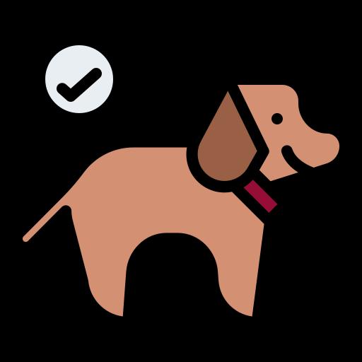 Допускается размещение домашних животных  бесплатно иконка
