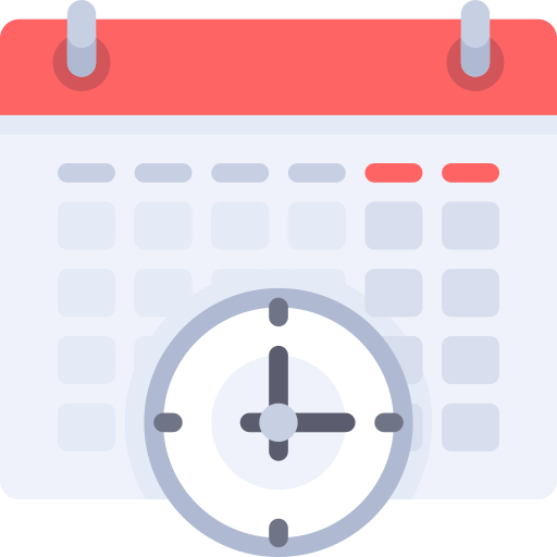 Wall calendar  free icon