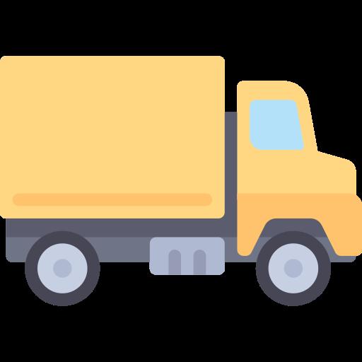 Trucking  free icon