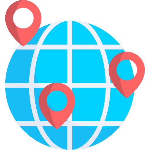 Maps and Flags  free icon