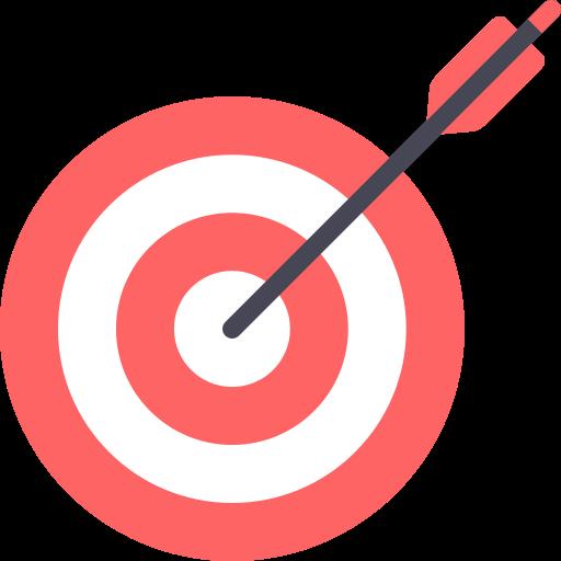 Dart board  free icon