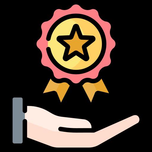 Reward  free icon