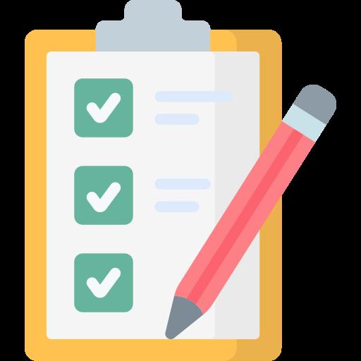 lista de verificación  icono gratis