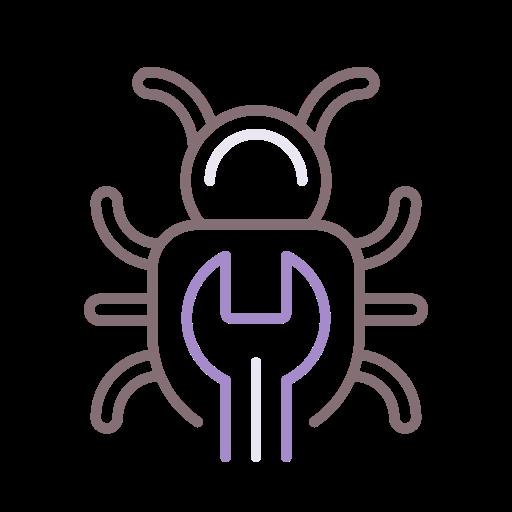 Bug  free icon