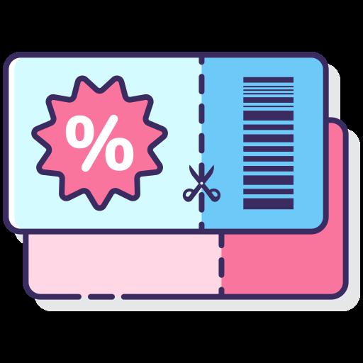 Discount voucher  free icon