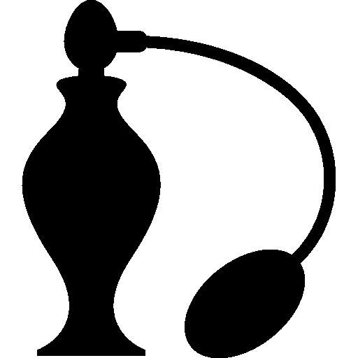 Perfume bottle with sprayer  free icon