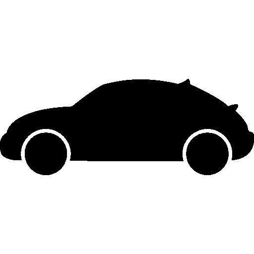 silhouette de vue de côté de variante de voiture à hayon  Icône gratuit