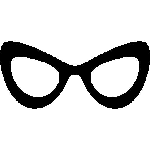 고양이 눈 안경  무료 아이콘