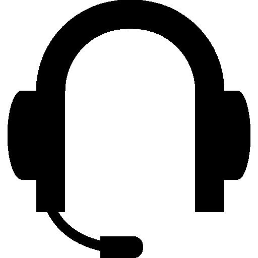 variante de auriculares con micrófono  icono gratis