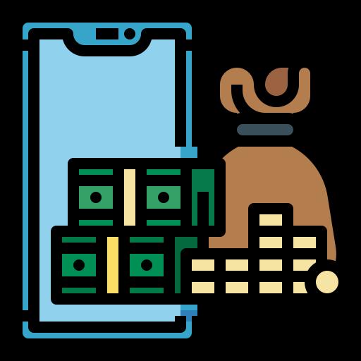 Money bag  free icon