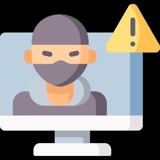 Threat  free icon