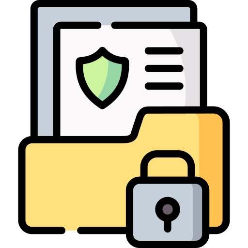 fichier secret  Icône gratuit