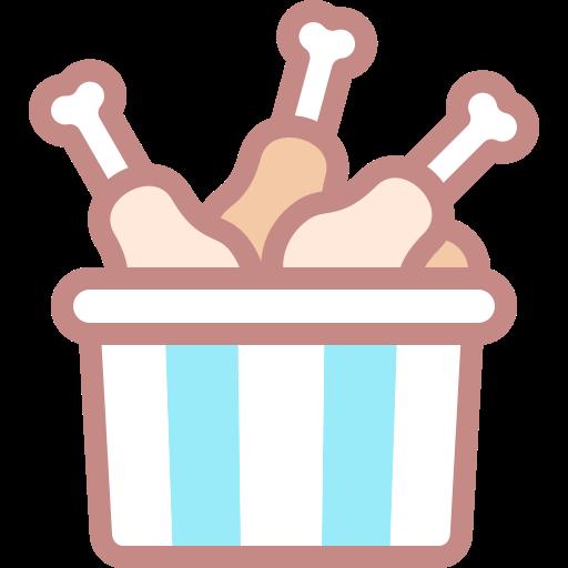 Chicken bucket  free icon