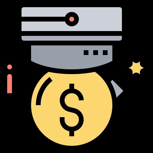 Debt service  free icon