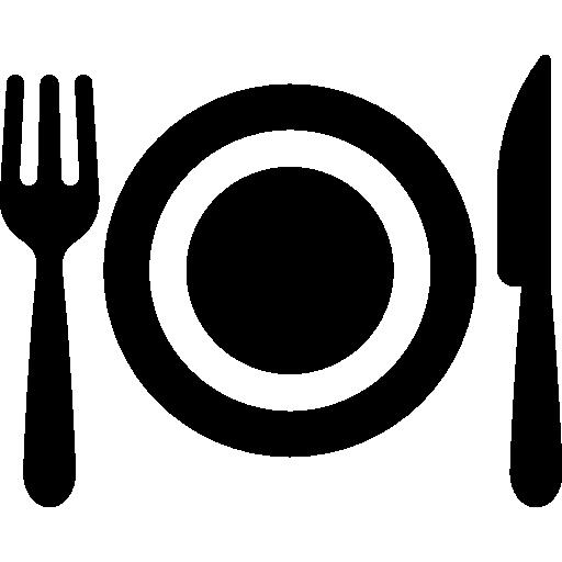 cena  icono gratis