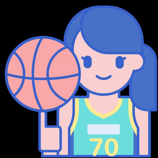 jugador de baloncesto  icono gratis