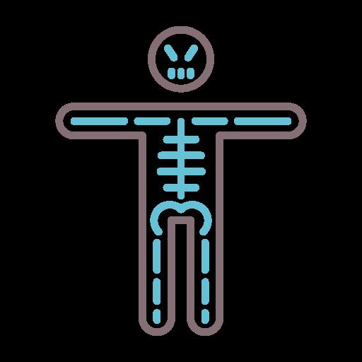 squelette  Icône gratuit