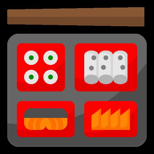 Bento  free icon