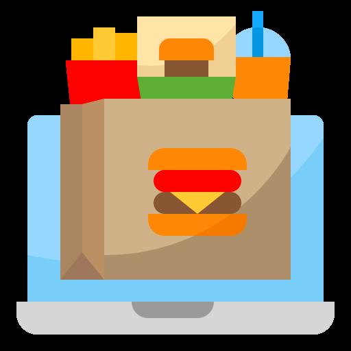 Fast food  free icon