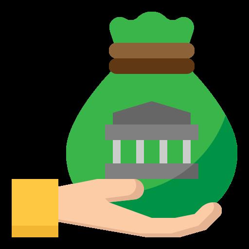 Loan  free icon