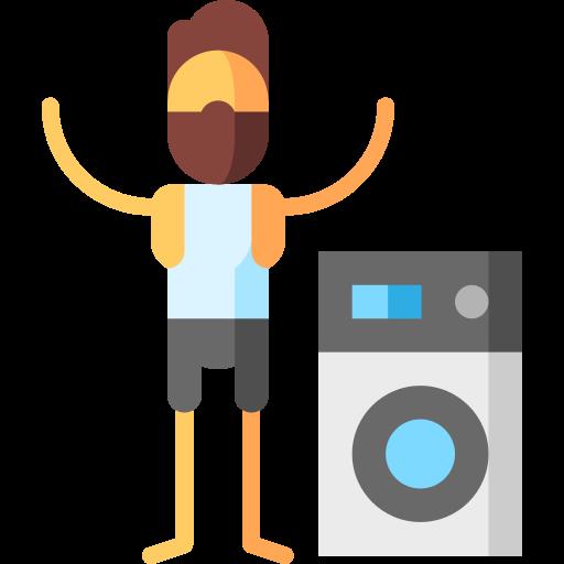 lavandería  icono gratis