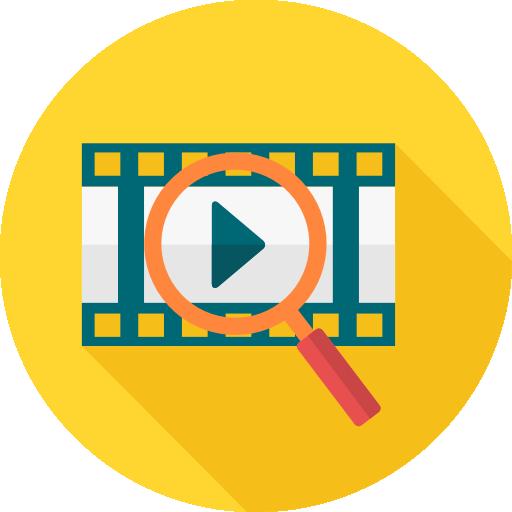 Поиск видео  бесплатно иконка