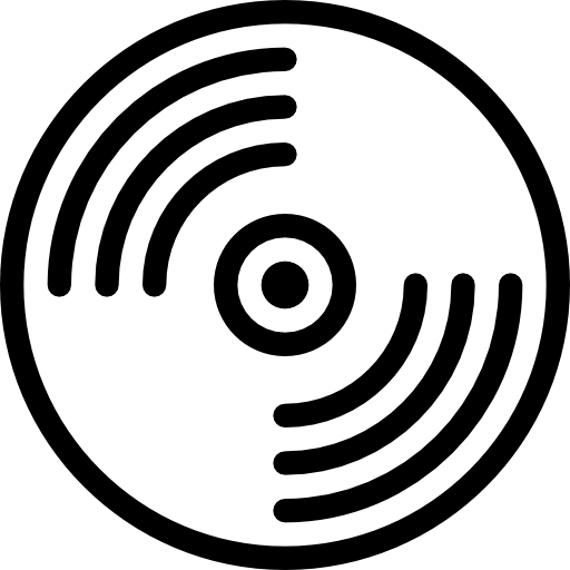 vinilo  icono gratis