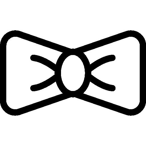 corbata de moño  icono gratis