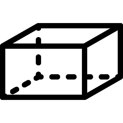hexaedro  icono gratis