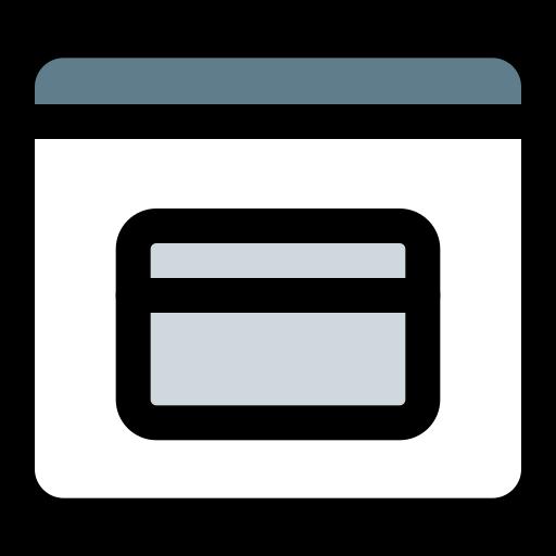 paiement par carte de crédit  Icône gratuit