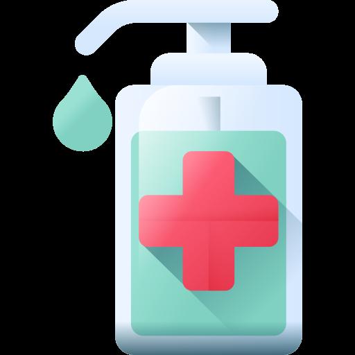 desinfectante de manos  icono gratis