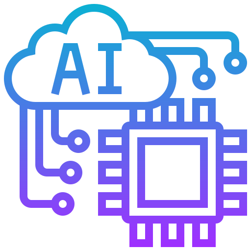 Artificial intelligence  free icon
